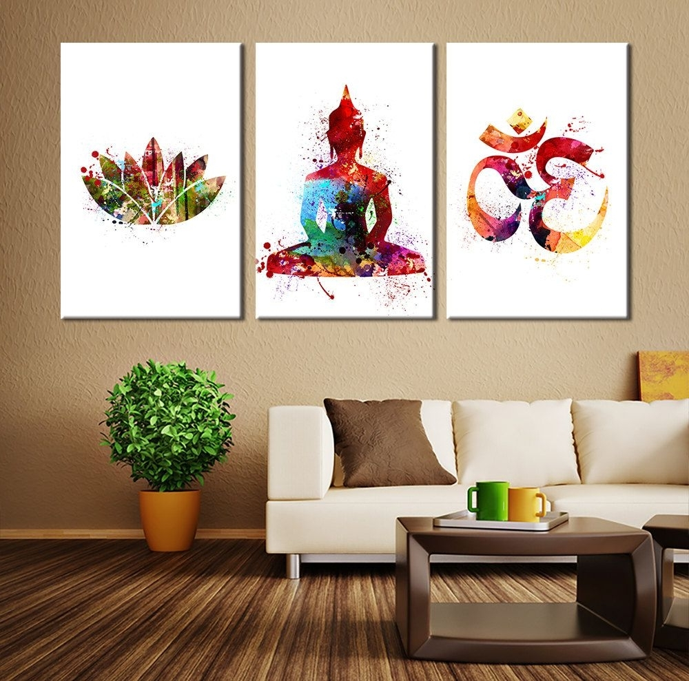 Wall Art Ideas Design : Popular Items Buddha Wall Art Canvas With Popular Modern Wall Art Decors (View 19 of 20)