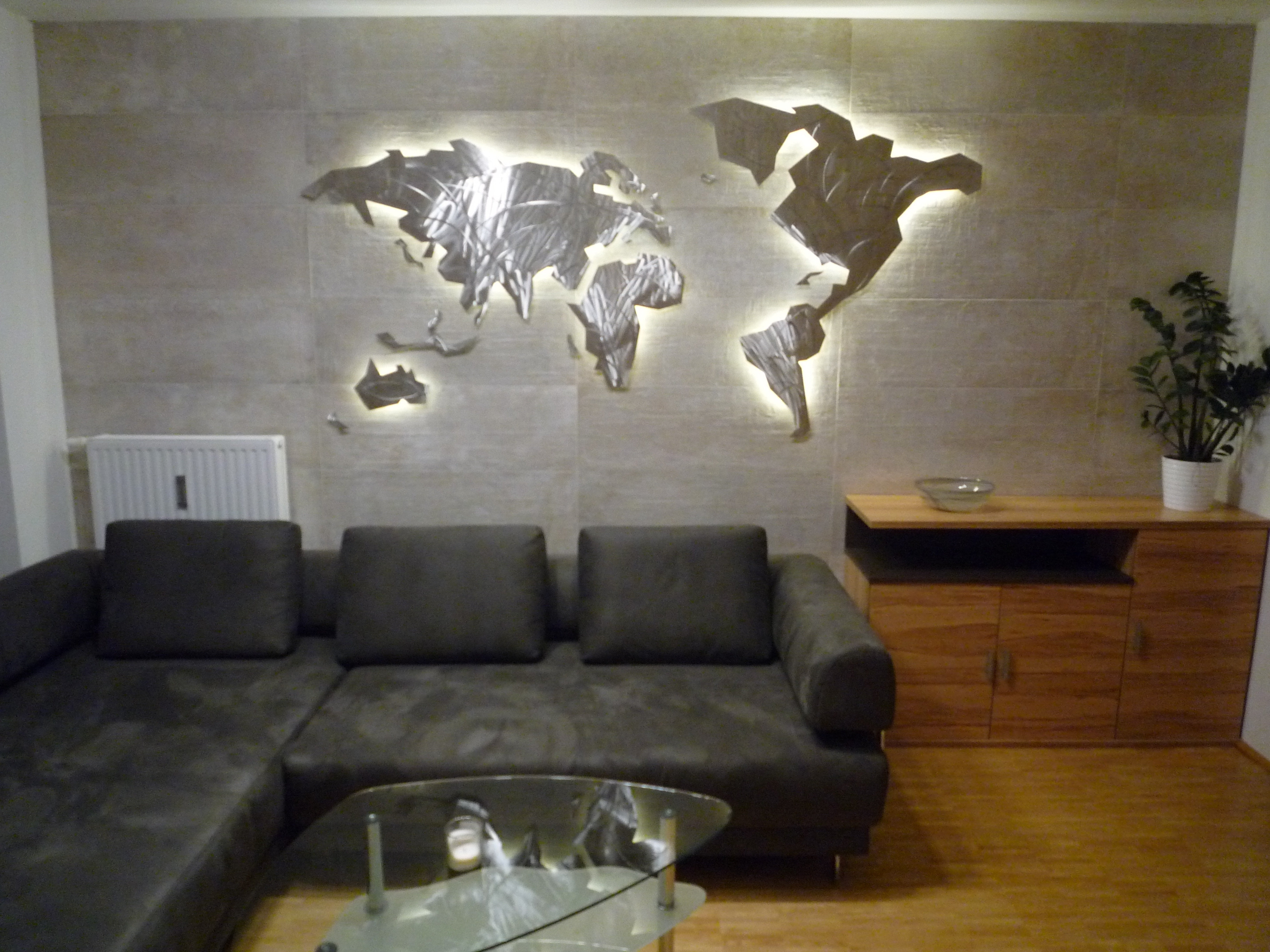 Wall Art Map Of World With Fashionable 39 Inspirational World Map Wall Art Framed Design Ideas Of Led Wall (View 14 of 20)