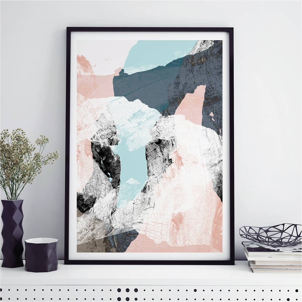 Wall Art Prints With Regard To Most Up To Date Abstract Art Prints Minimalist Wall Art Printbronagh Kennedy (View 12 of 20)