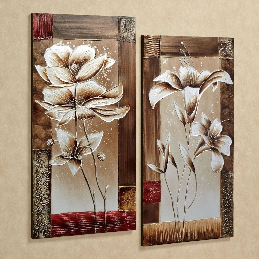 Wall Art Set Of 2 – Turbid With Preferred Set Of 2 Framed Wall Art (View 18 of 20)