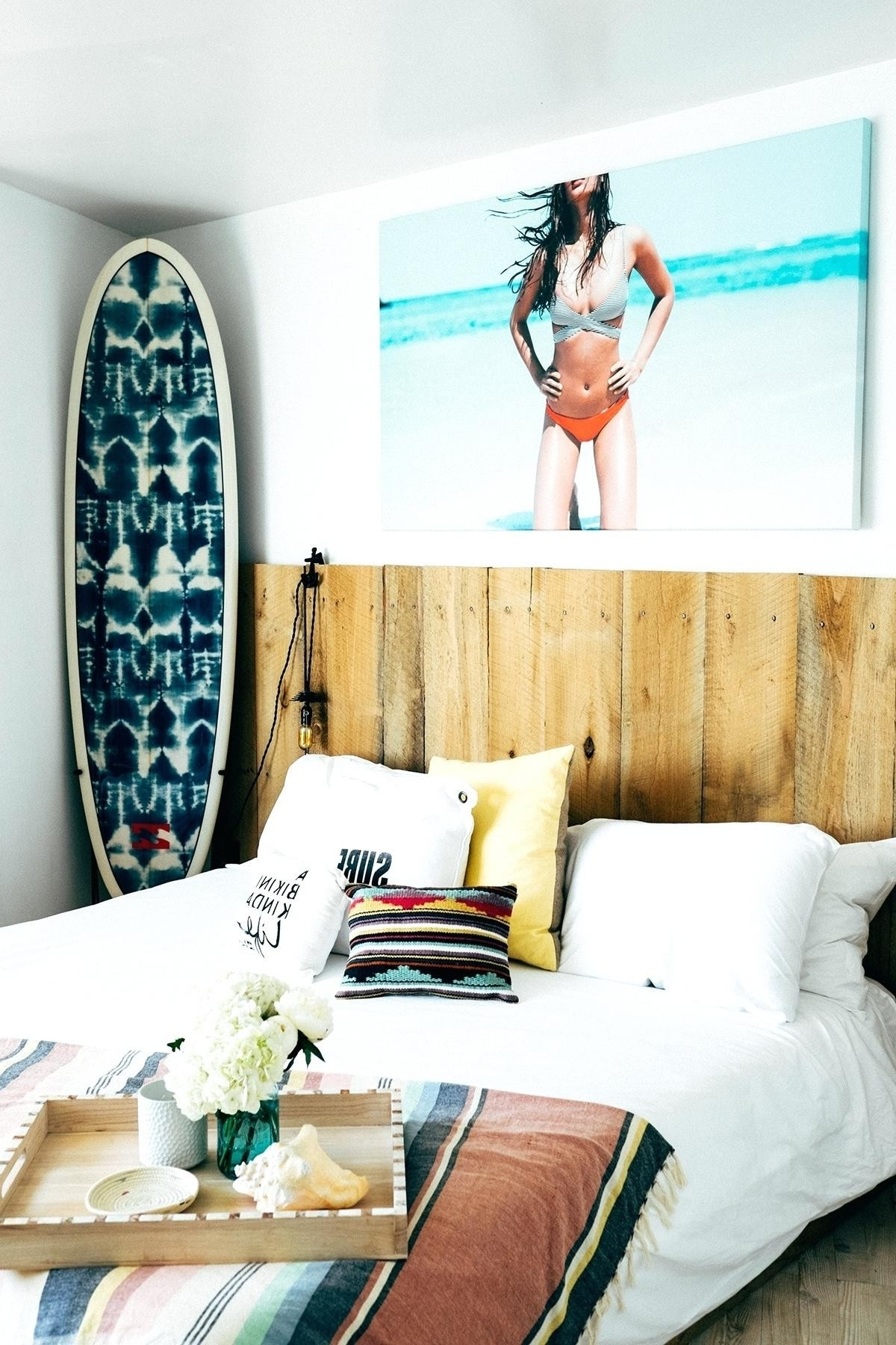 Wall Decals 4U Elegant 34 Lovely Surfboard Wall Art Home Decorations Intended For Favorite Surfboard Wall Art (View 19 of 20)