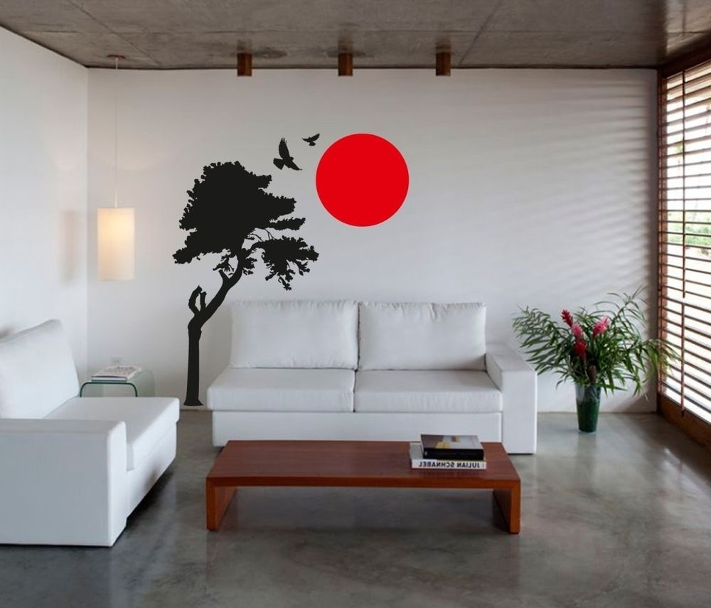Wall Decorations Pertaining To Well Liked Japanese Wall Art (Gallery 4 of 20)