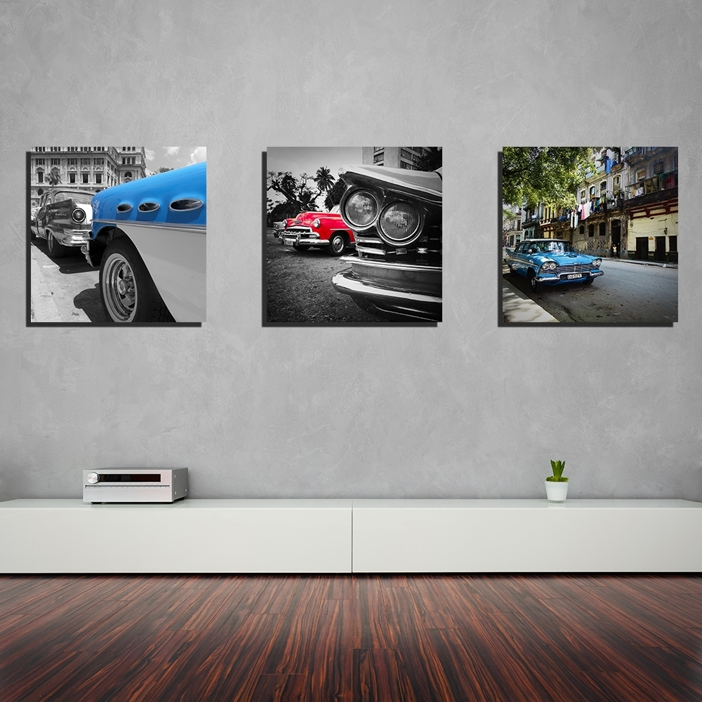 Wall Decorations With Regard To Most Recently Released Car Canvas Wall Art (View 19 of 20)