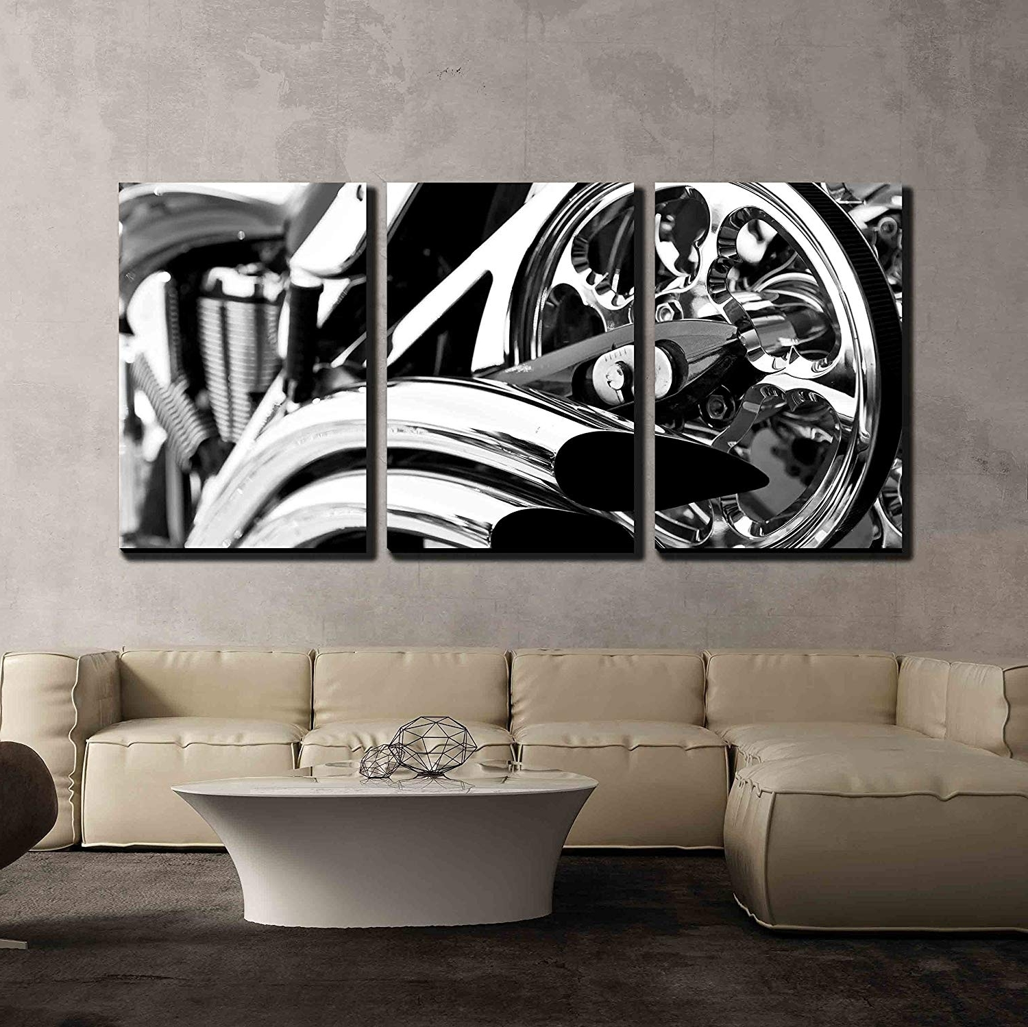 Featured Photo of Motorcycle Wall Art