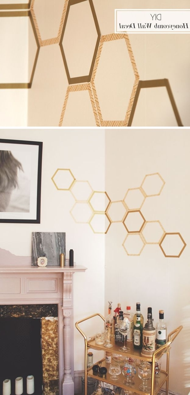 Washi Tape Wall Art Regarding Fashionable 100 Washi Tape Ideas To Style And Personalize Your Items (Gallery 19 of 20)