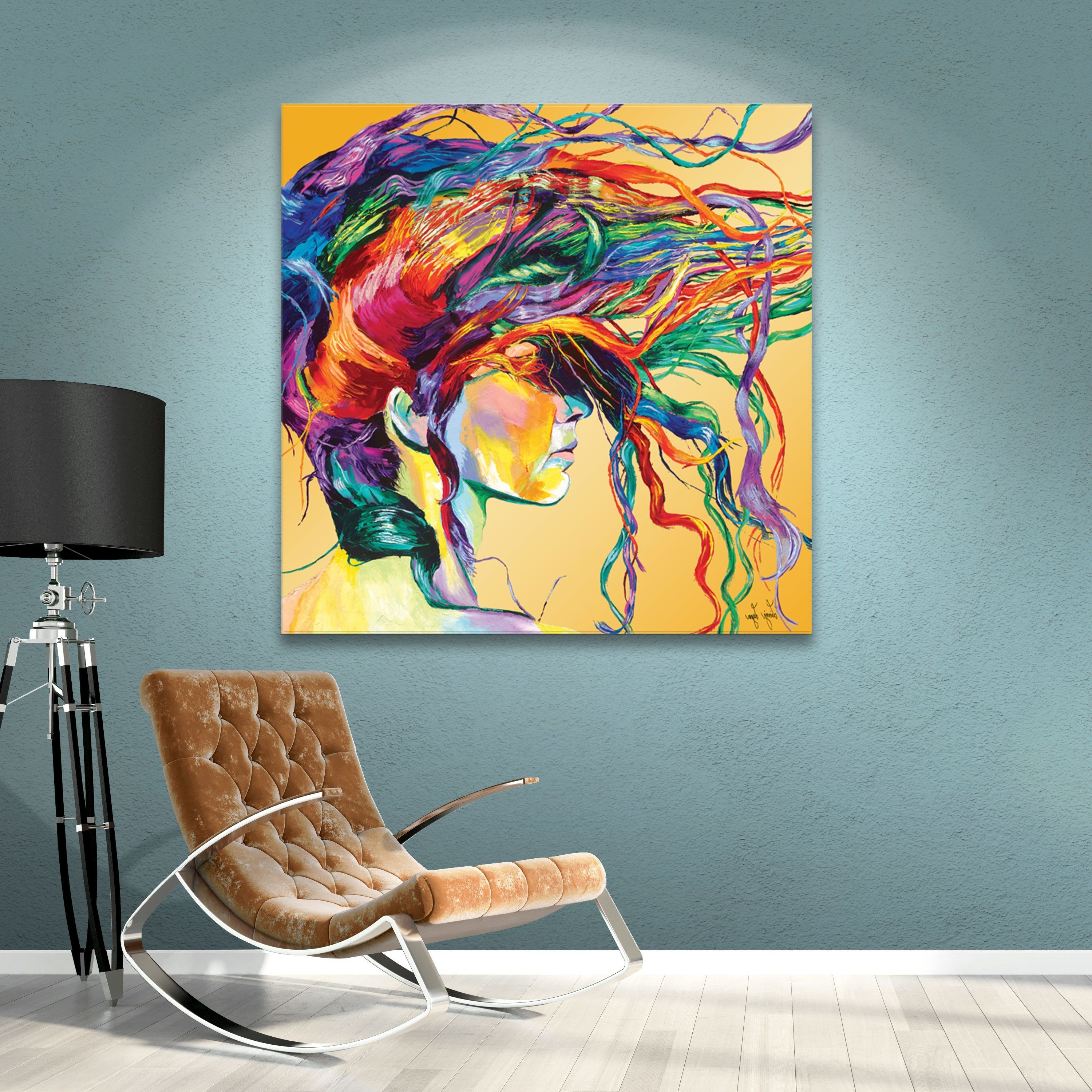 Wayfair Wall Art With Famous Varick Gallery Windswept Painting Print On Canvas & Reviews (View 15 of 15)