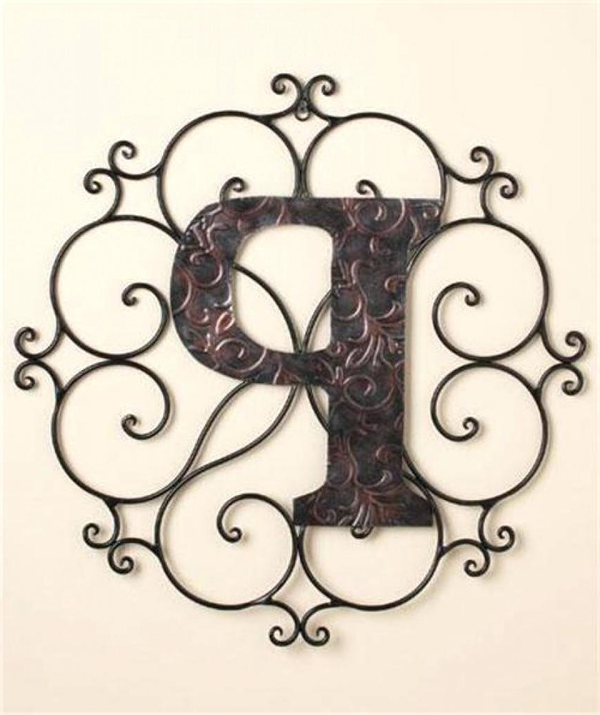 Well Known 41 Monogram Wall Art, 40 Creative Monogram Wall Art Ideas Inside Monogram Wall Art (View 11 of 20)