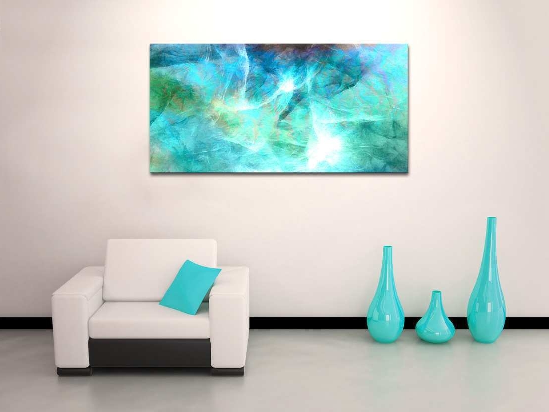 Well Known Abstract Canvas Wall Art Awesome Oversized Abstract Canvas Art In Oversized Teal Canvas Wall Art (View 19 of 20)