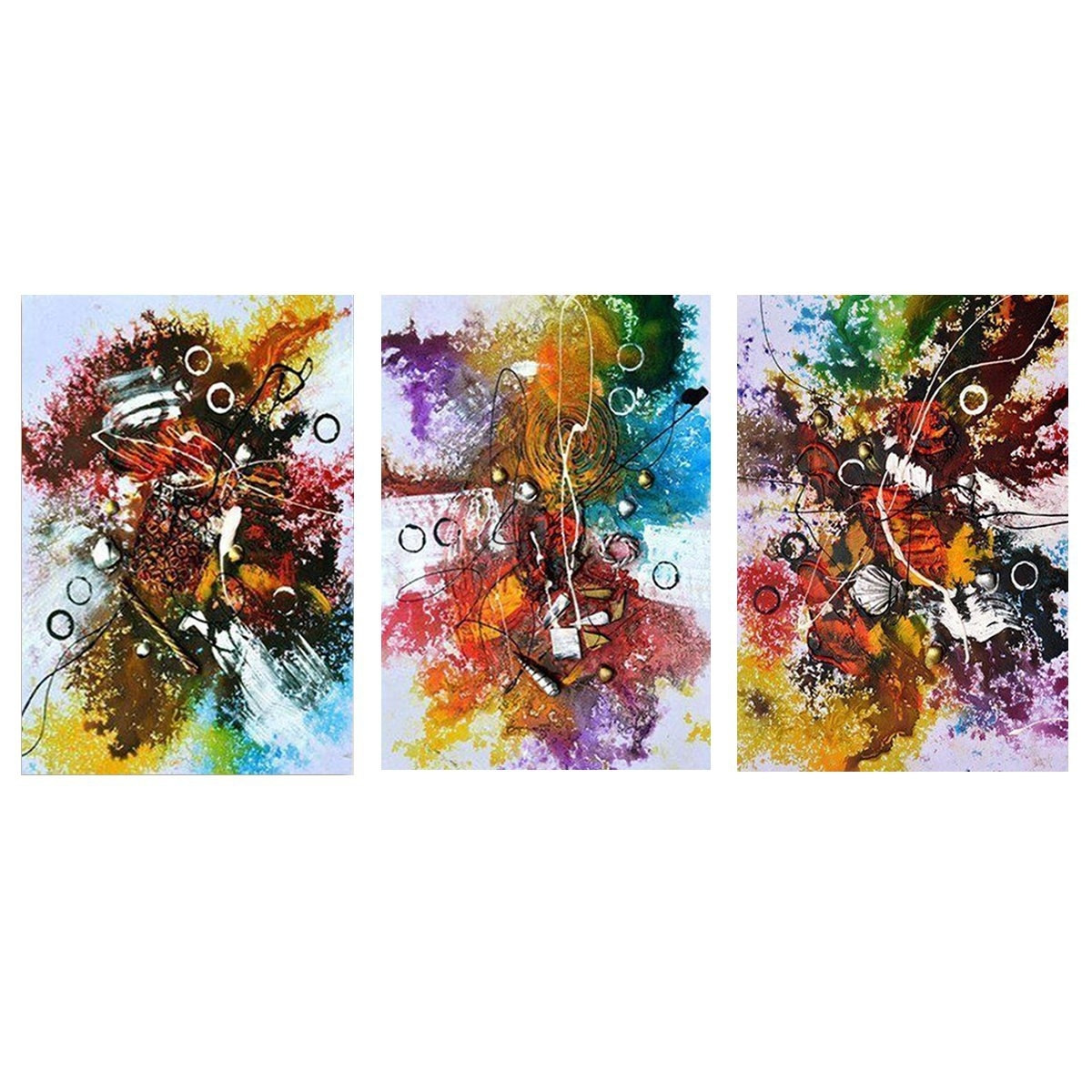 Well Known Abstract Modern Oil Paintings Canvas Wall Art Printed Pictures Home Throughout Modern Painting Canvas Wall Art (View 17 of 20)