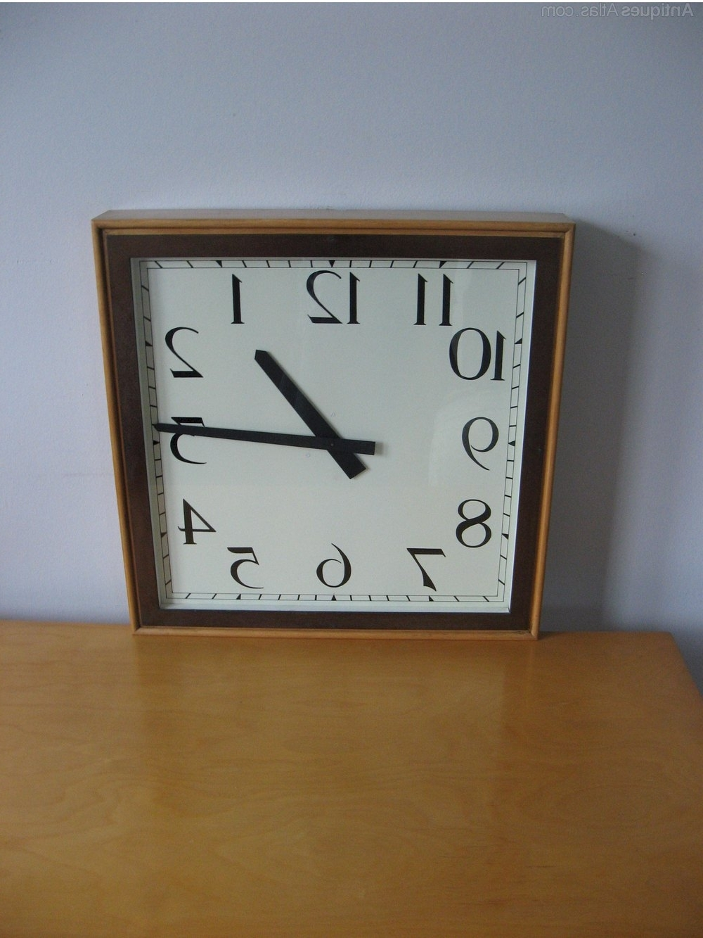 Well Known Antiques Atlas – Large Art Deco Wall Clock Within Art Deco Wall Clock (View 13 of 20)