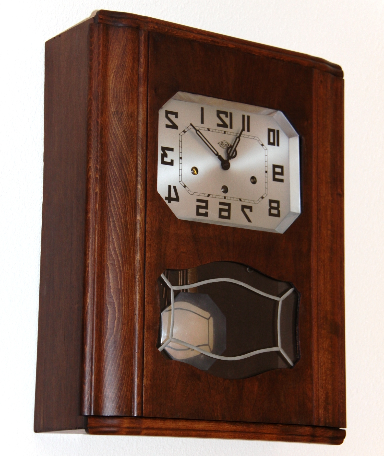 Well Known Art Deco Wall Clock For French Irod Clock (View 7 of 20)