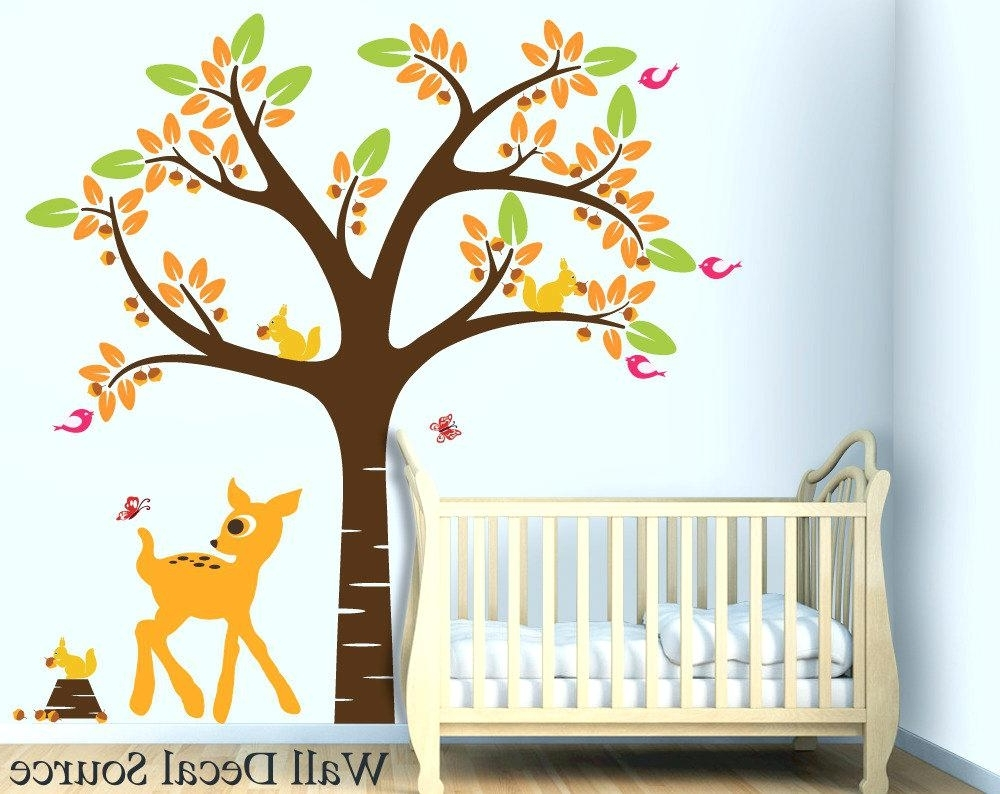 Well Known Baby Room Wall Art Pertaining To Nursery Wall Art Decals Baby Wall Art Baby Nursery Wall Art (Gallery 7 of 20)