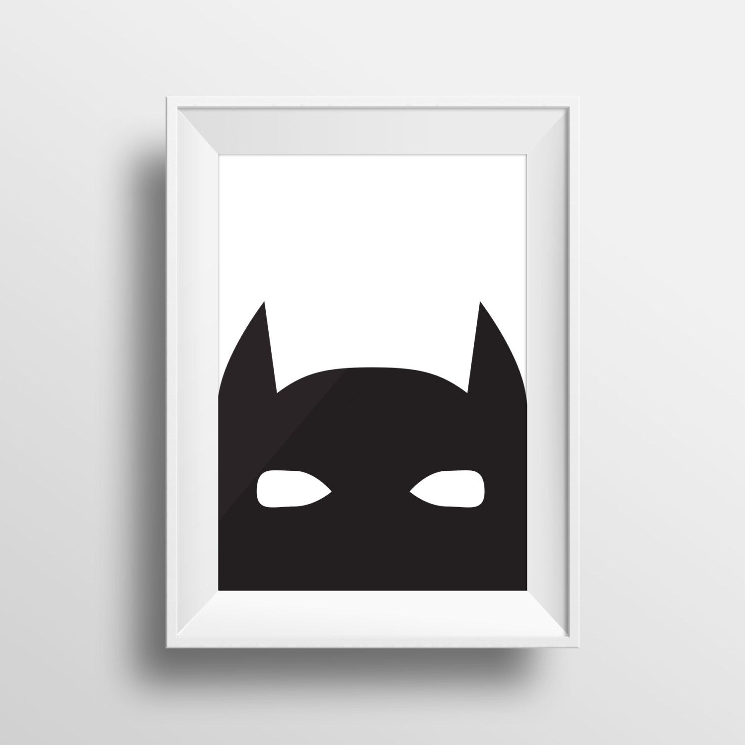 Well Known Batman Wall Art Regarding Batman Art, Printable Art, Boys Room Decor, Modern Art, Printable (Gallery 16 of 20)