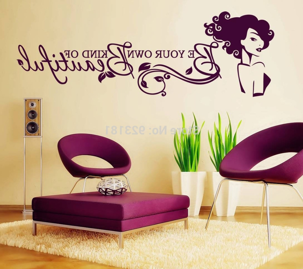 Well Known Be Your Own Kind Of Beautiful Wall Decal – Culturehoop For Be Your Own Kind Of Beautiful Wall Art (Gallery 1 of 15)