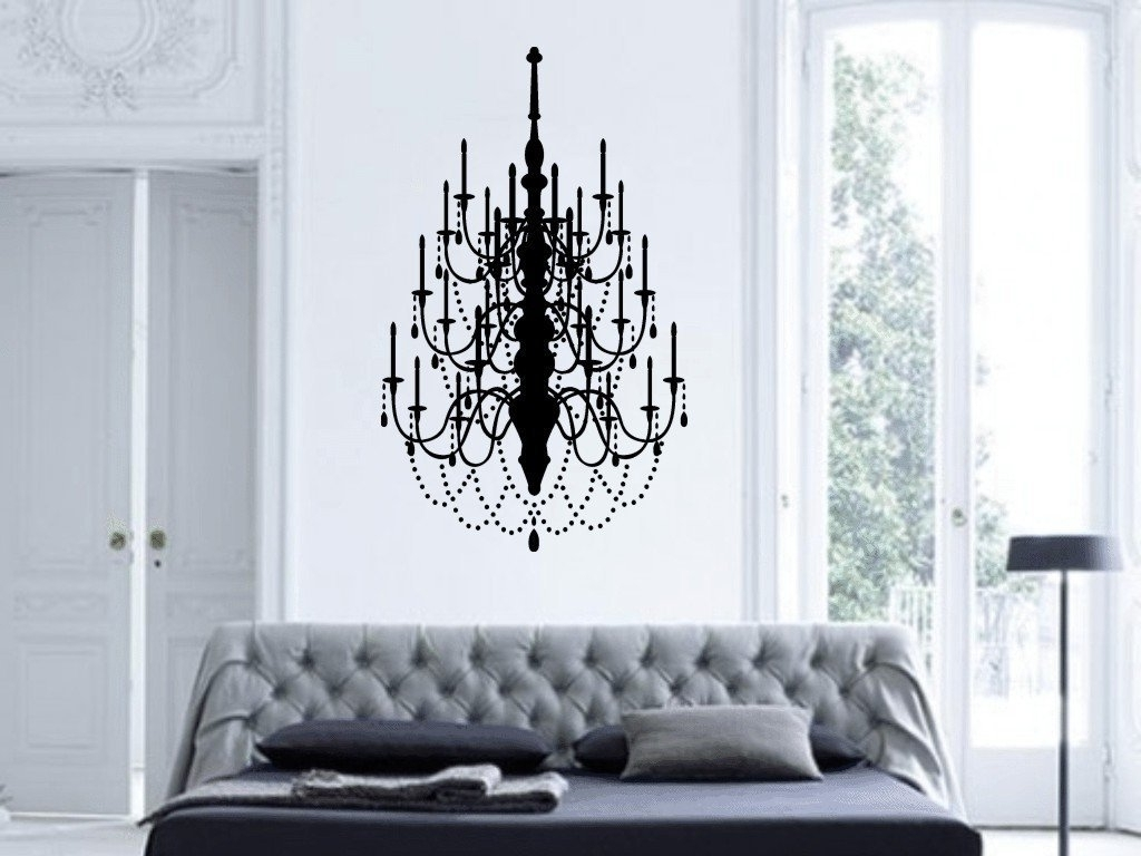 Well Known Chandelier Wall Art Pertaining To Chandelier Wall Art – Culturehoop (Gallery 8 of 20)