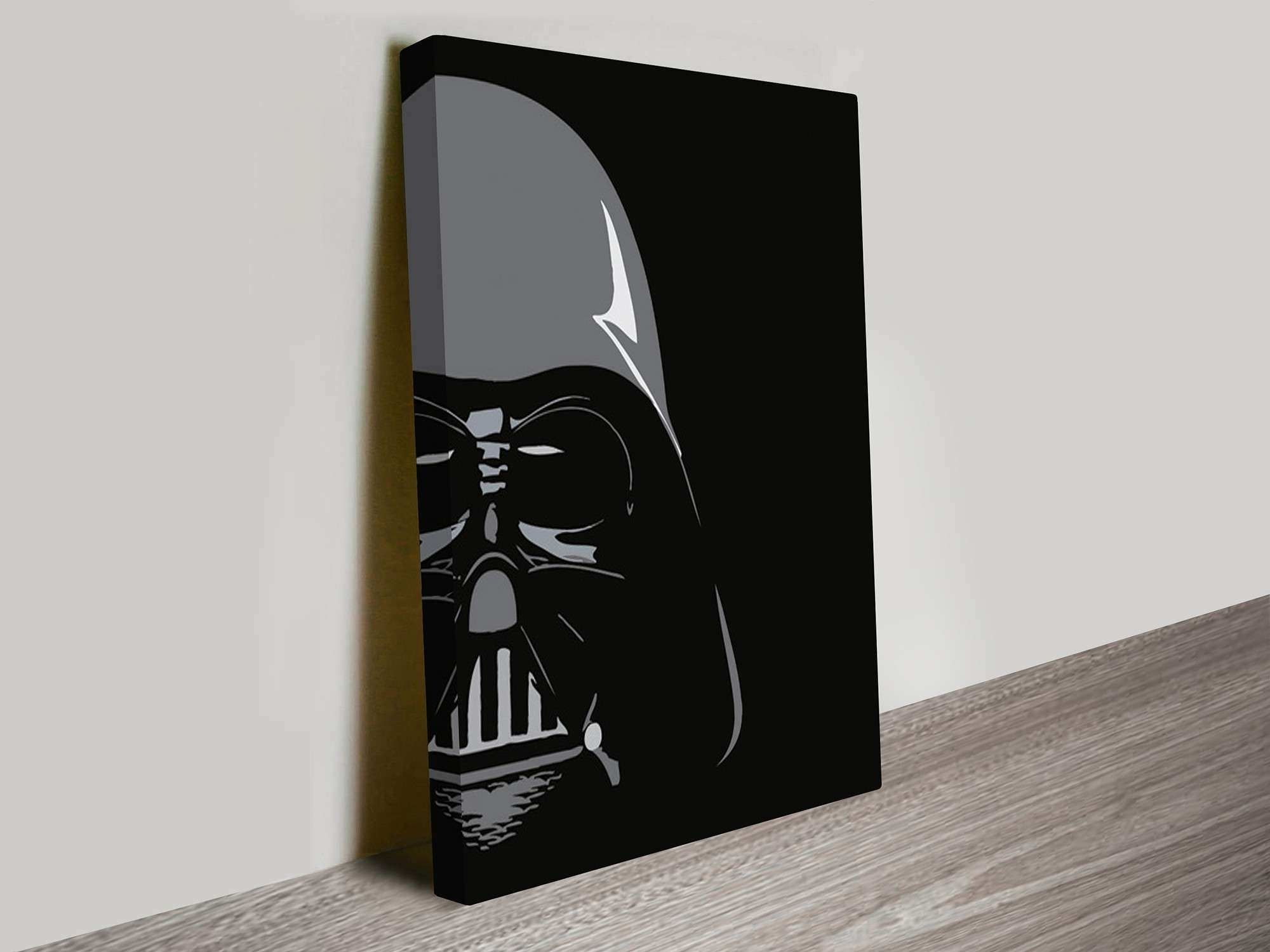 Well Known Darth Vader Wall Art Throughout Star Wars Canvas Wall Art Unique Darth Vader Pop Art Canvas Prints (Gallery 11 of 20)