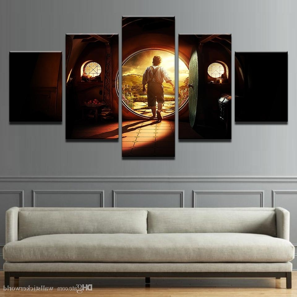 Well Known Lord Of The Rings Wall Art With 2018 Canvas Pictures Home Decor Wall Art Lord Of The Rings Paintings (View 18 of 20)