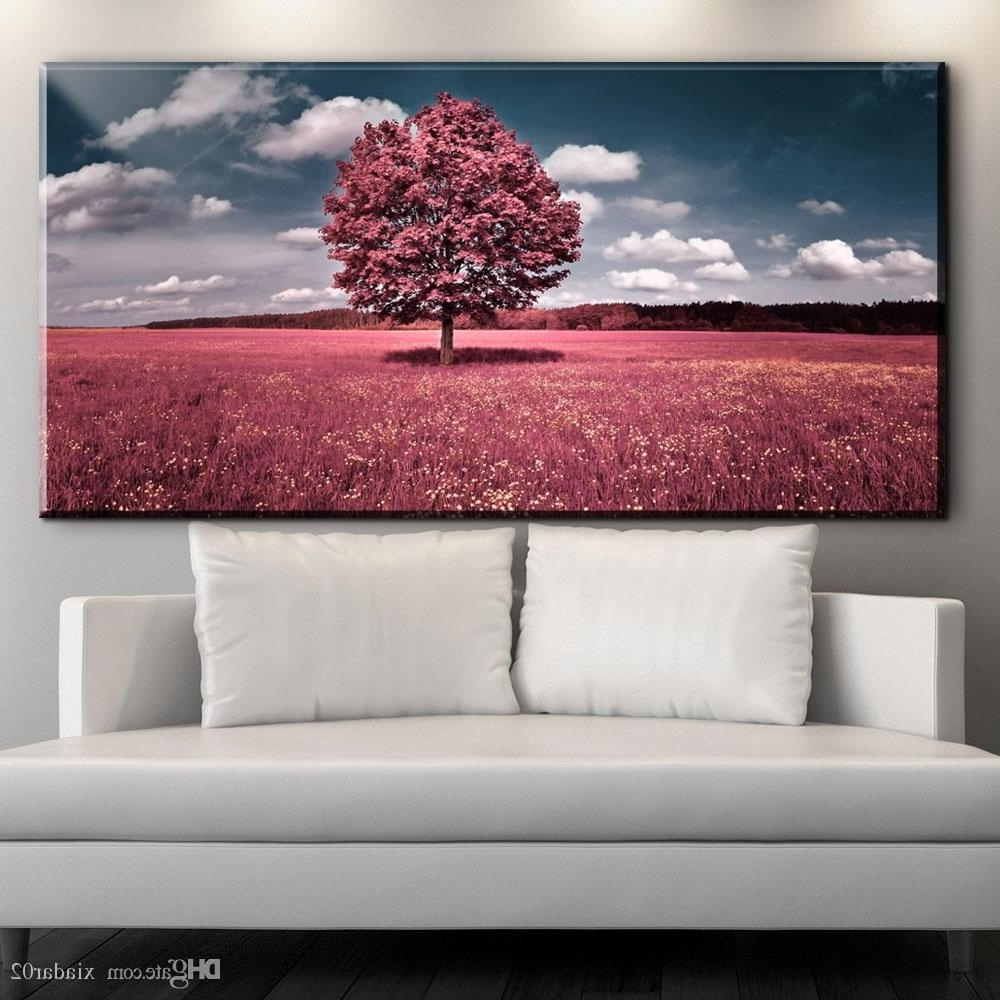 Well Known Nature Wall Art Intended For 2018 Zz1904 Modern Canvas Wall Art Beautiful Nature Scenery Canvas (View 1 of 20)