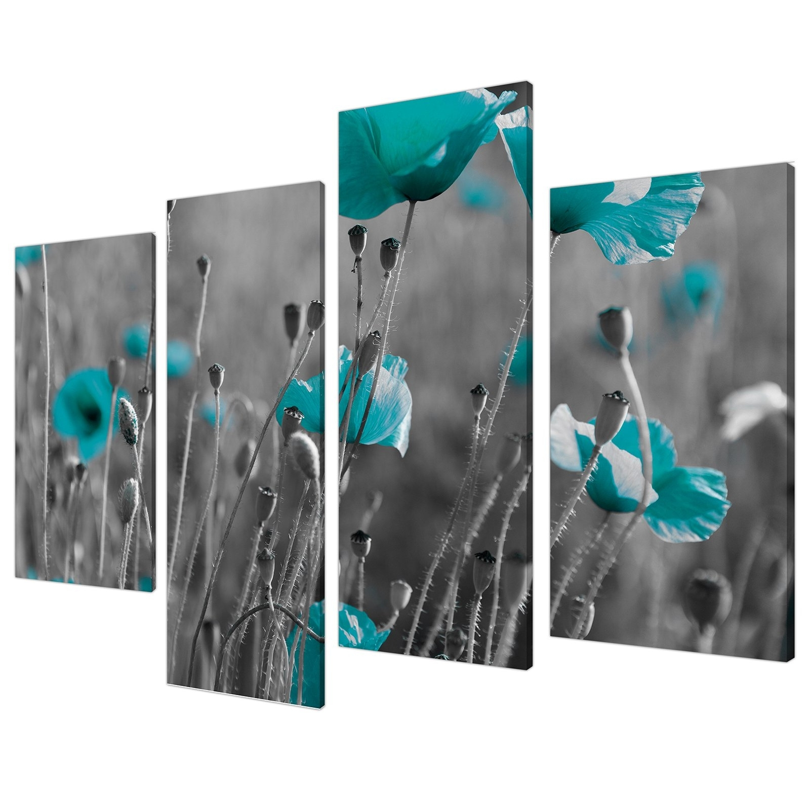 Well Known Oversized Teal Canvas Wall Art With Extra Large Wall Art: Amazon.co (View 20 of 20)