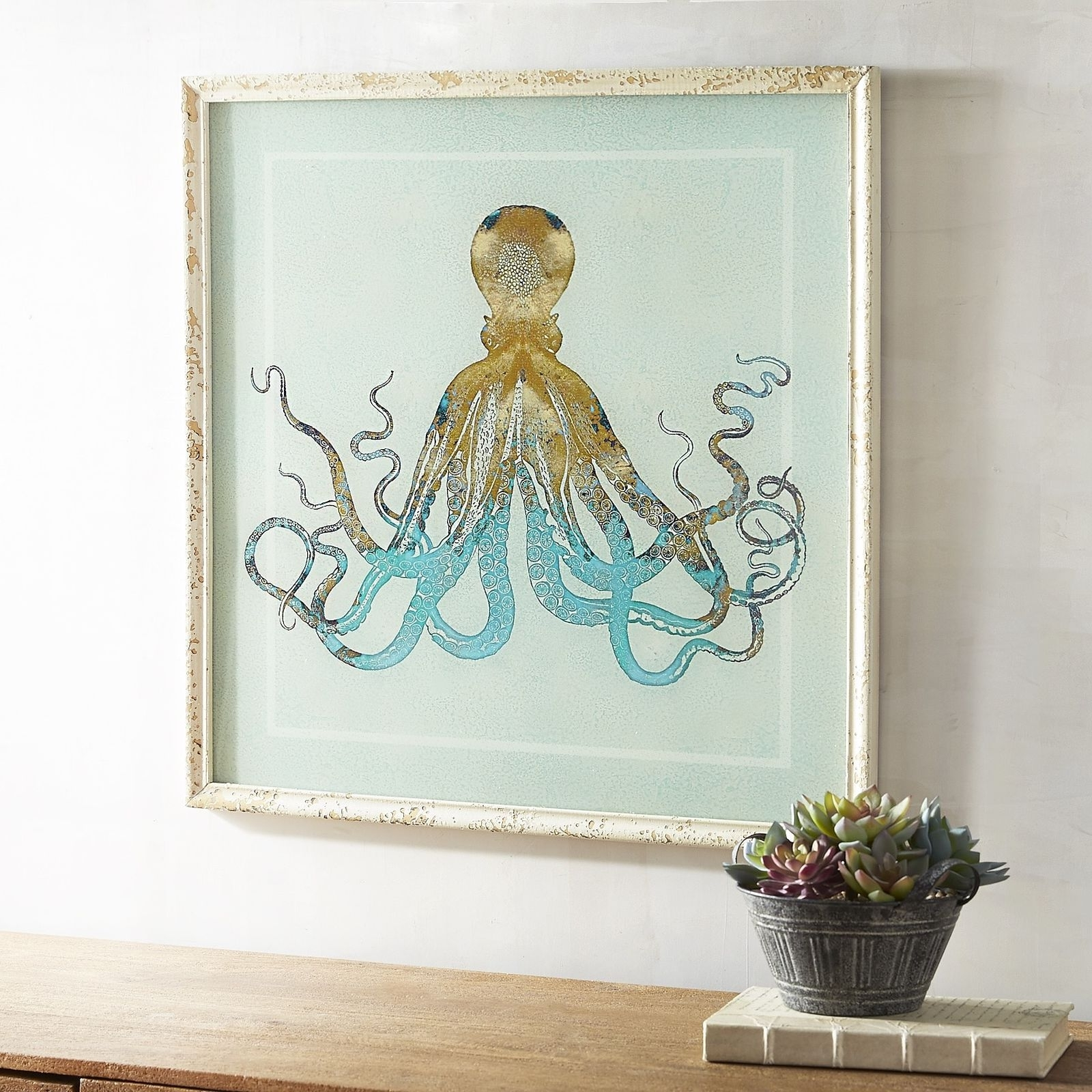 Well Known Pretentious Octopus Wall Art Best Design Interior Canvas World For Target Wall Art (View 15 of 15)