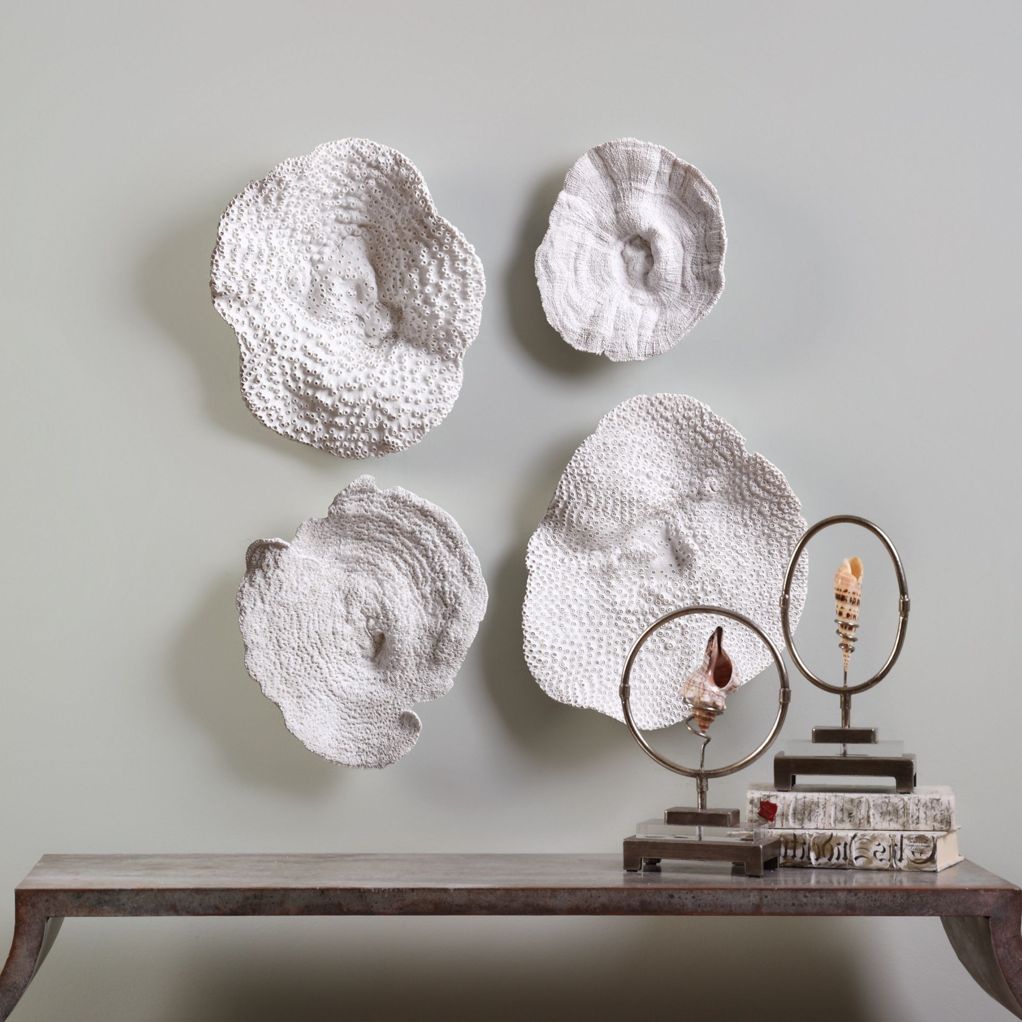Well Known Shop Uttermost Sea Coral Wall Art (Set Of 4) – Free Shipping Today Regarding Coral Wall Art (View 19 of 20)