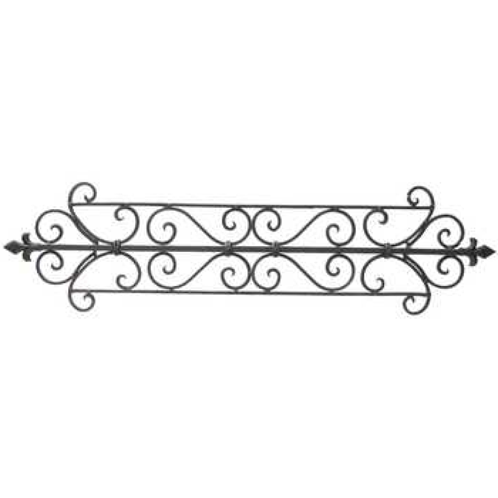 Well Known Tuscan Decor Scroll Wrought Iron Metal Wall Metal Wall Decor Art Within Metal Scroll Wall Art (View 18 of 20)
