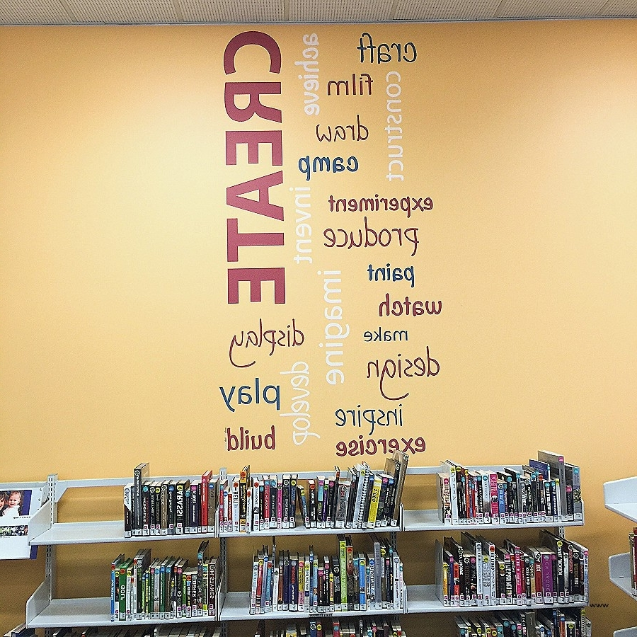Well Known Wall Art: Elegant Word Art For Wal ~ Robotsgonebad Pertaining To Word Art For Walls (Gallery 15 of 20)