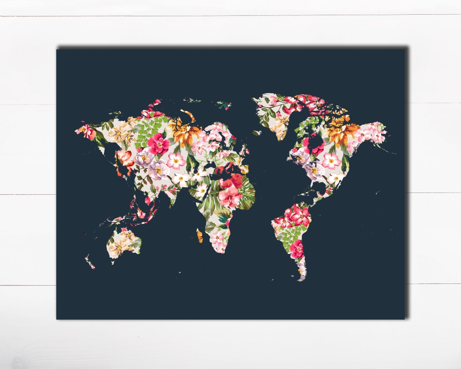 Well Known World Map Art – Funf.pandroid.co In Map Wall Art Prints (Gallery 13 of 20)