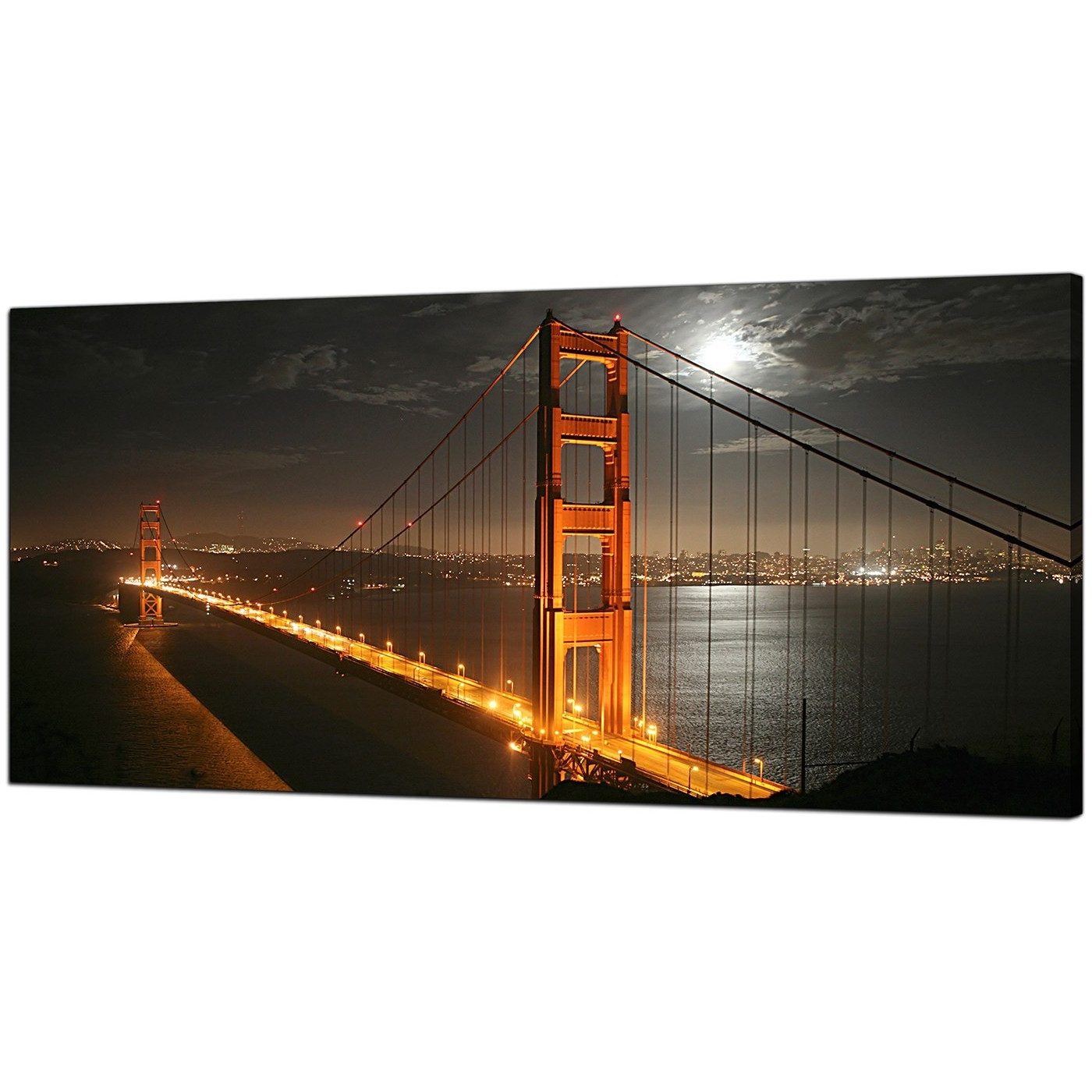 Well Liked Cheap Canvas Prints Of Night Time San Francisco For Your Dining Room In San Francisco Wall Art (View 15 of 20)