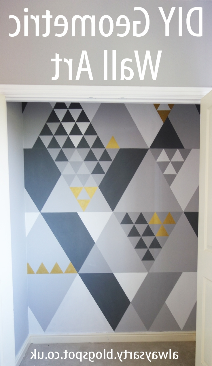 Well Liked Geometric Wall Art With Regard To Always Arty: Geometric Wall Art (View 18 of 20)