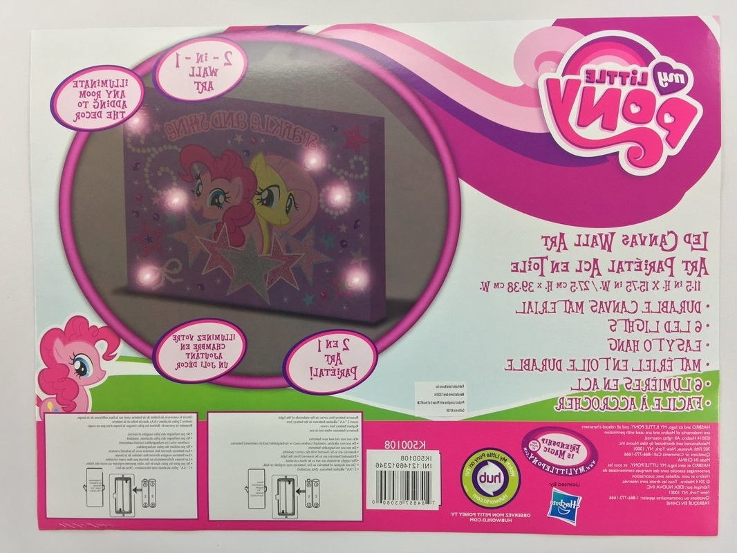 Well Liked Linen Depot Direct 'my Little Pony Sparkle And Shine' Graphic Art On With Regard To My Little Pony Wall Art (View 16 of 20)