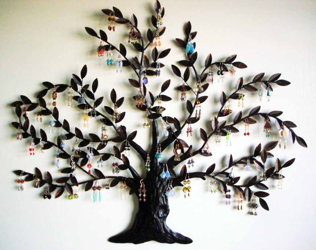 Well Liked Metal Wall Art Trees With Metal Tree With Birds Wall Art – Blogtipsworld (View 14 of 20)