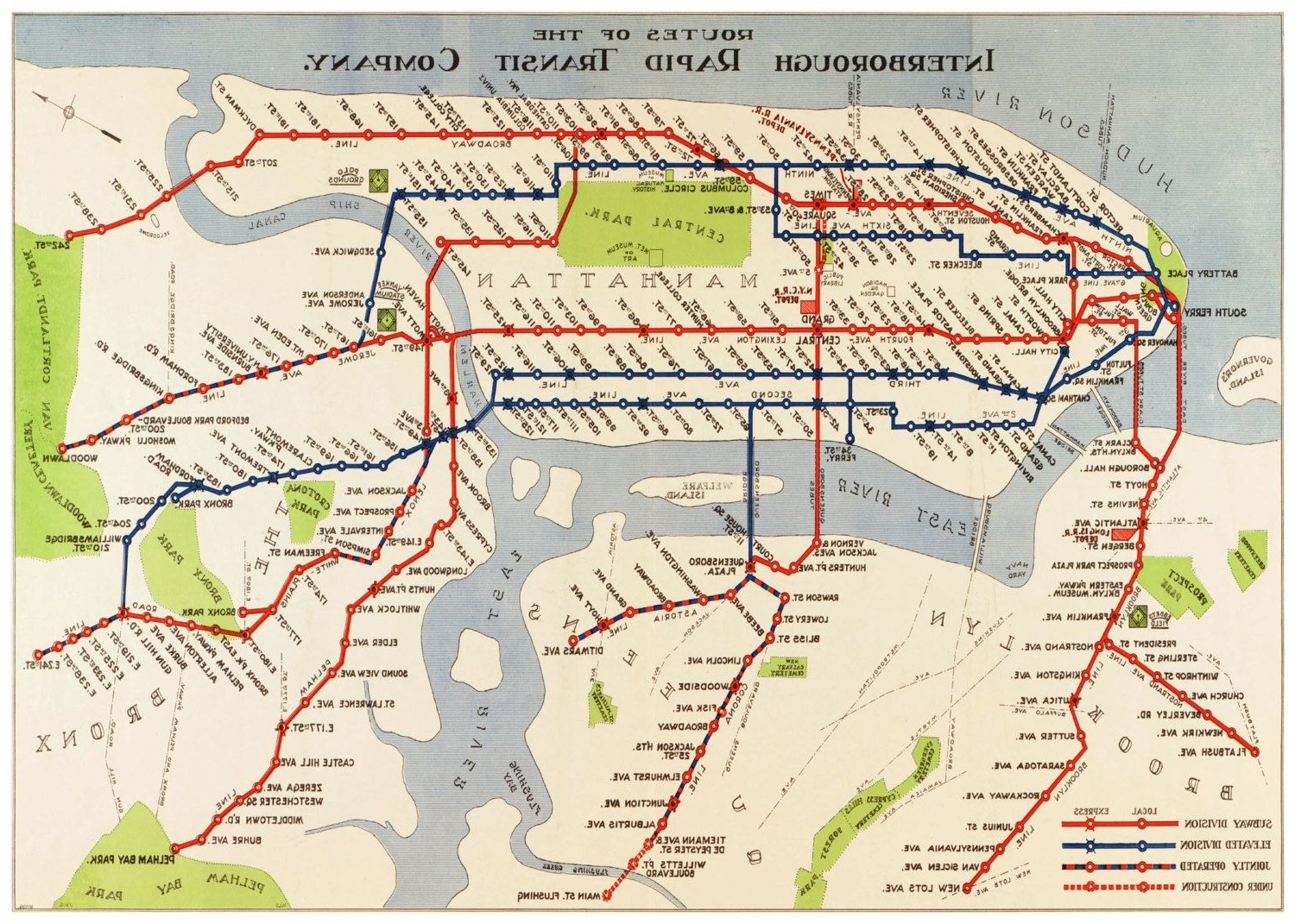 Well Liked Old New York City Subway Map Showing The Old 3Rd Ave (View 20 of 20)