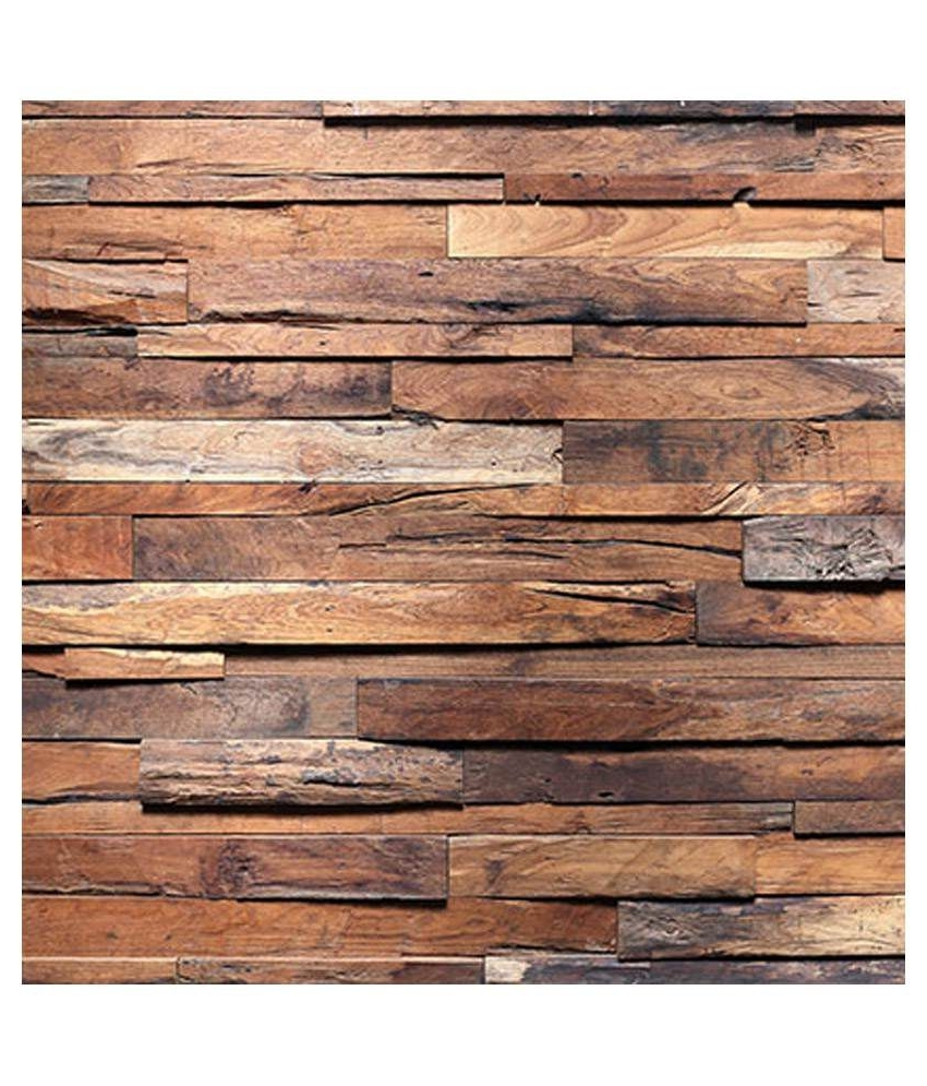 Well Liked Plank Wall Art Intended For Buy Wall Art Rough Wooden Planks Online At Low Price In India – Snapdeal (Gallery 18 of 20)