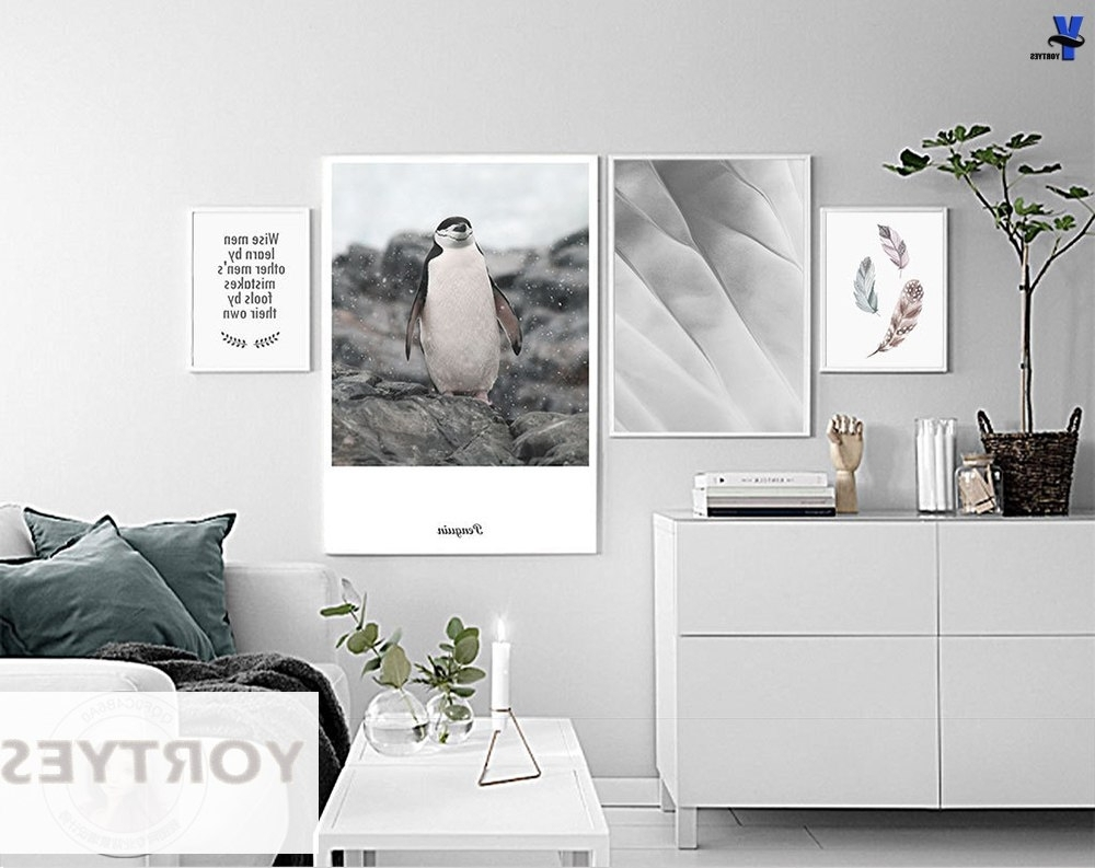 Well Liked Wall Art For Men For Nordic Style Canvas Prints Wise Men Learnfeathers Penguin Wall (Gallery 11 of 15)