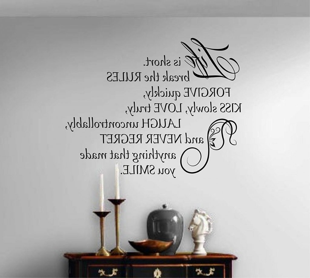 Well Liked Wall Art Quotes Intended For Quotes For Wall Decoration – Blogtipsworld (Gallery 12 of 20)