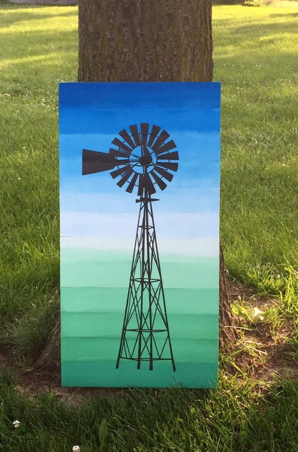 Well Liked Windmill Painting, Windmill Wall Art, Wood Planked Windmill Wall Art Pertaining To Windmill Wall Art (View 11 of 20)