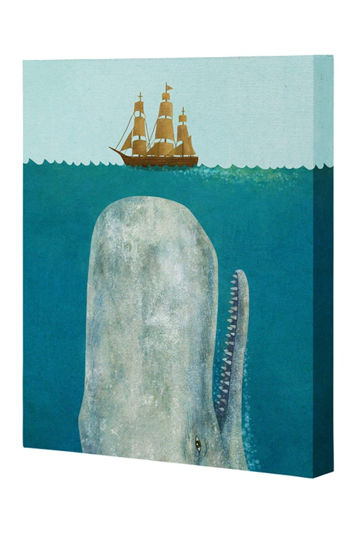 Whale Canvas With Regard To Widely Used Whale Canvas Wall Art (Gallery 11 of 20)