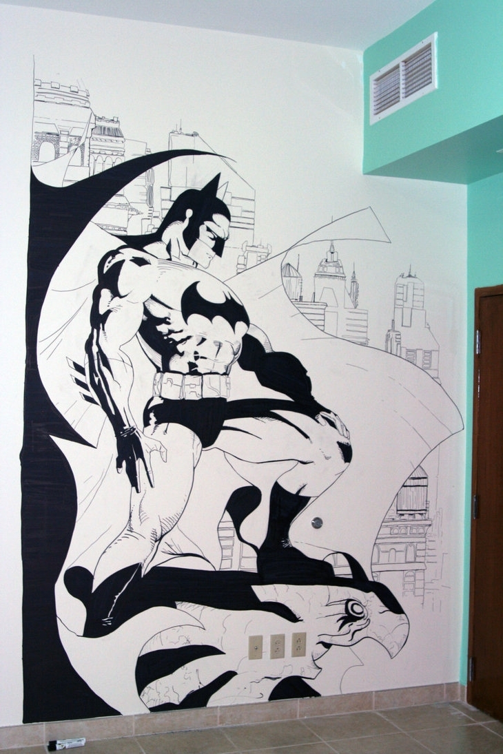 Widely Used Batman Wall Artzabbah On Deviantart Intended For Batman Wall Art (View 20 of 20)