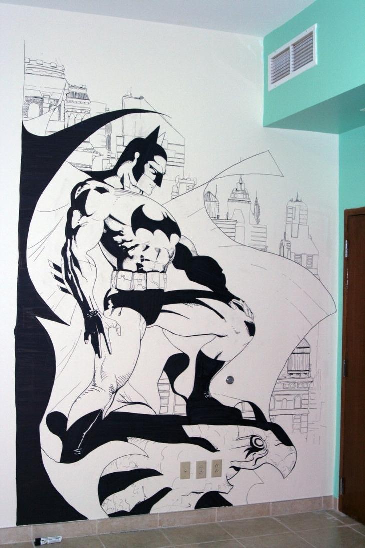 Widely Used Batman Wall Artzabbah On Deviantart Intended For Batman Wall Art (Gallery 11 of 20)