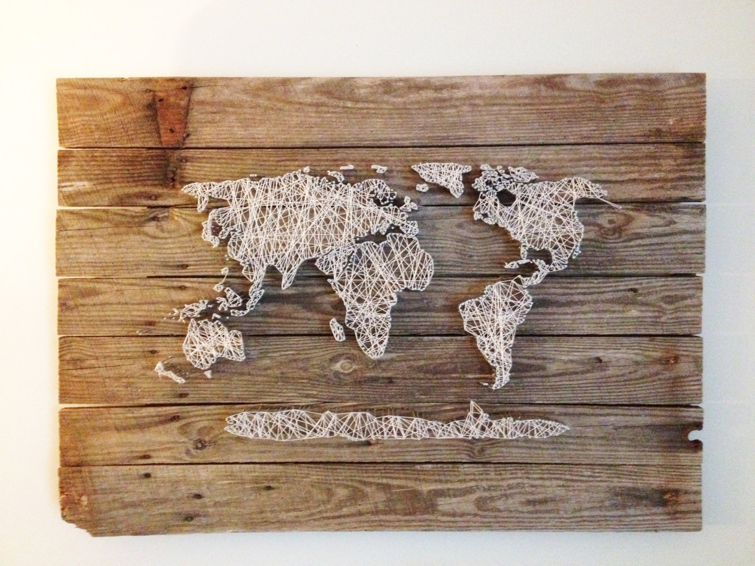 Widely Used Diy World Map Wall Art Regarding Diy World Map Wall Decor Noavg. Map Of Decor. Travel Map Decor. Www (Gallery 20 of 20)