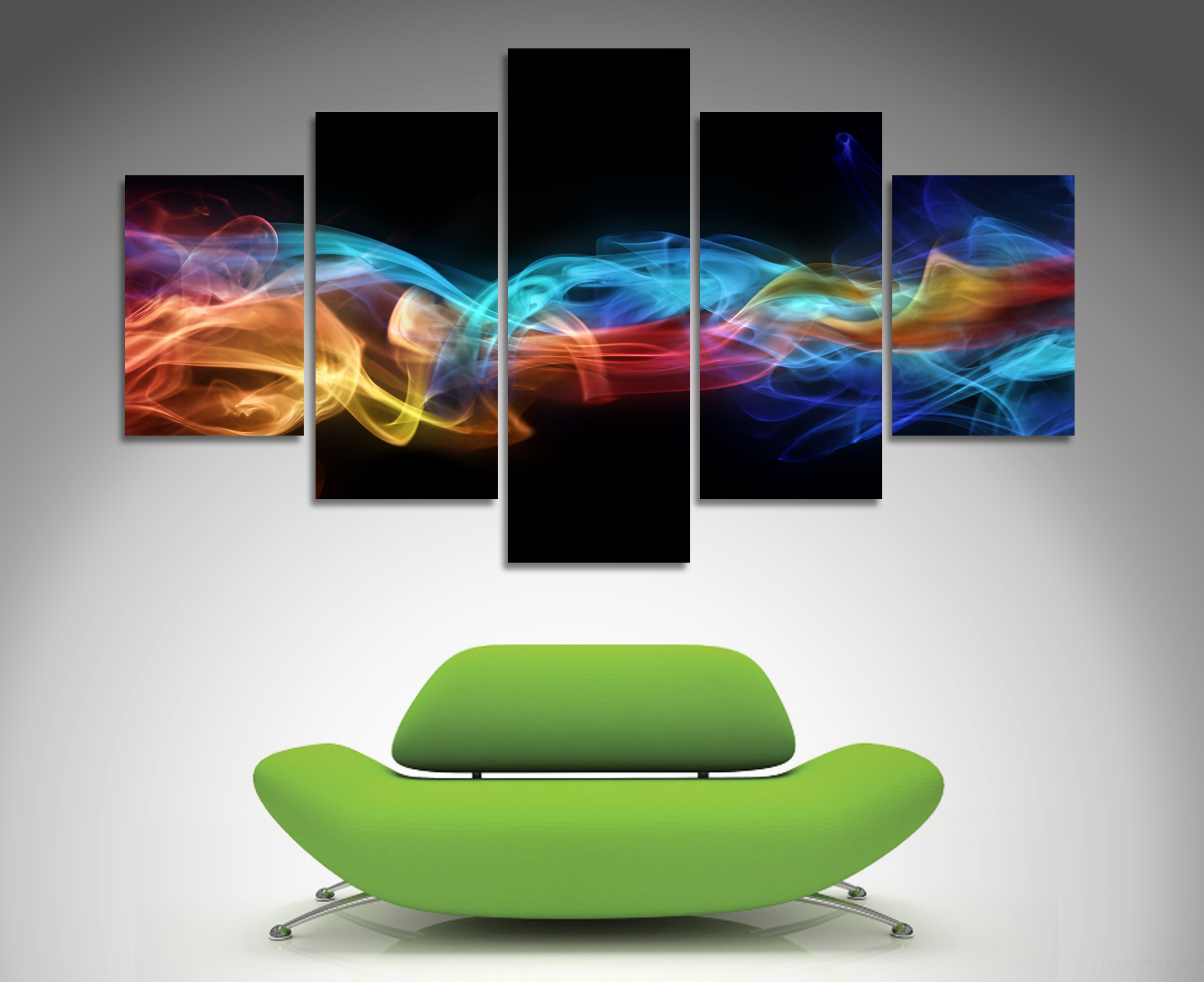 Widely Used Fire And Ice 5 Panel Wall Art (View 10 of 15)