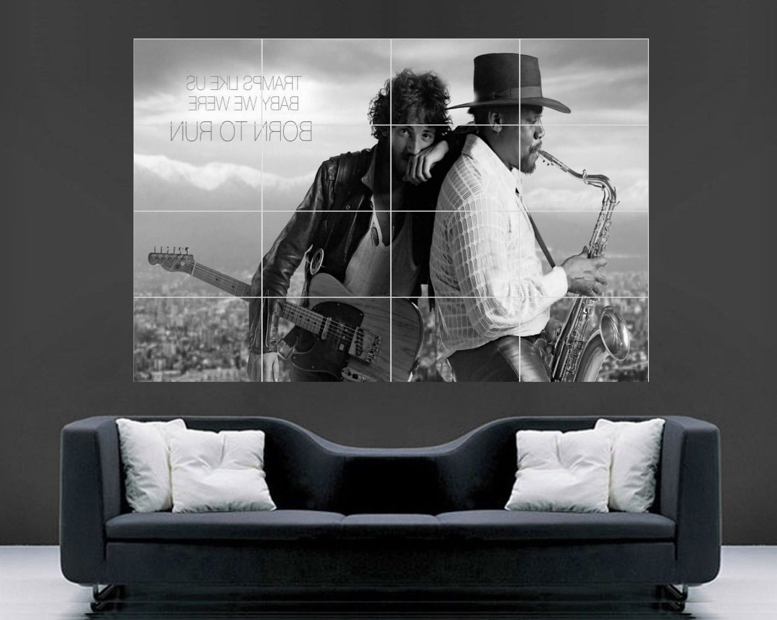 Widely Used Giant Wall Art With Regard To Bruce Springsteen Poster (Giant Wall Art) – Oldvinylvault (View 20 of 20)