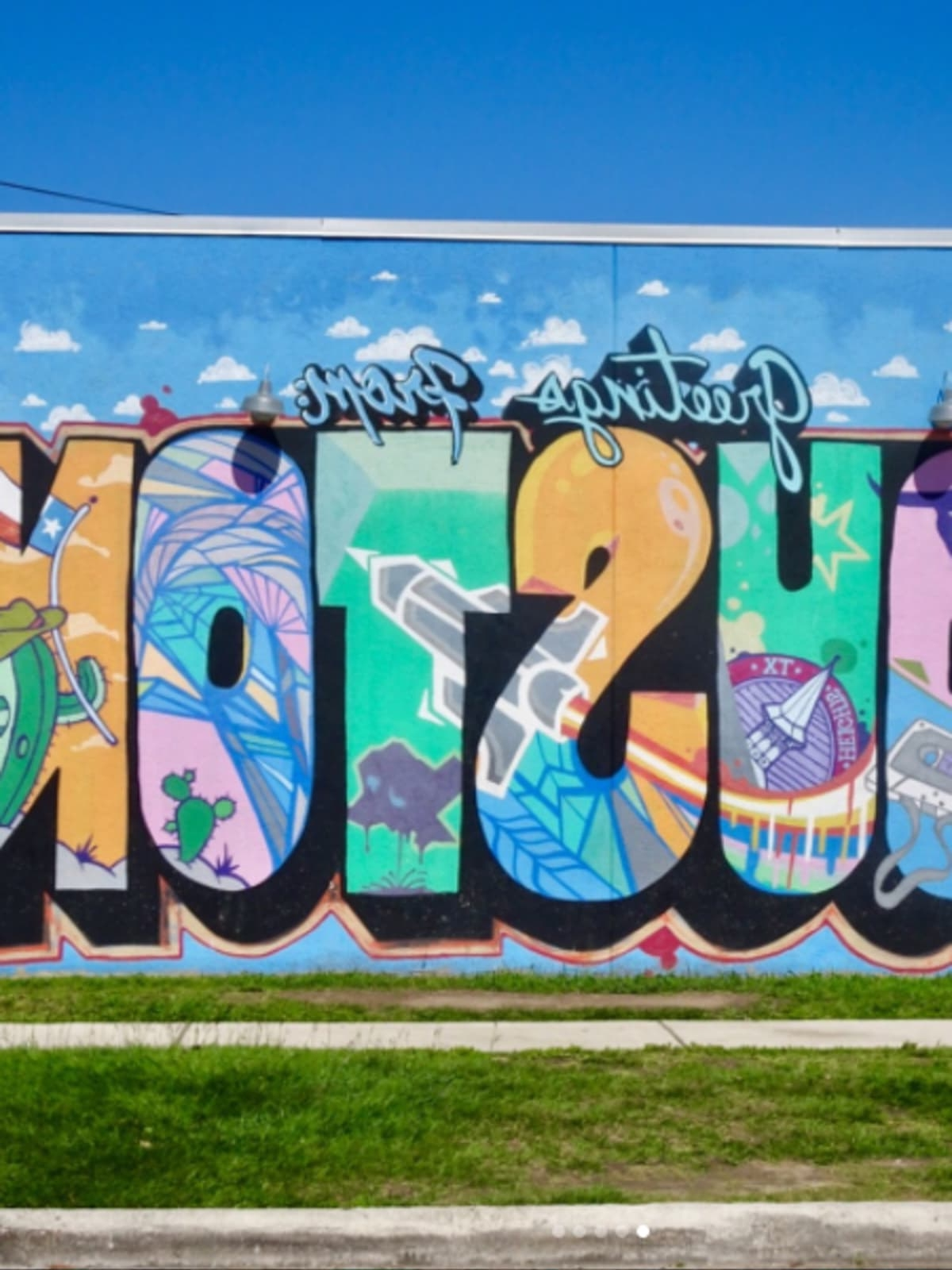 Widely Used Houston Wall Art Throughout Pleasant Houston Wall Art Street 15 Murals That Make The Perfect (View 20 of 20)