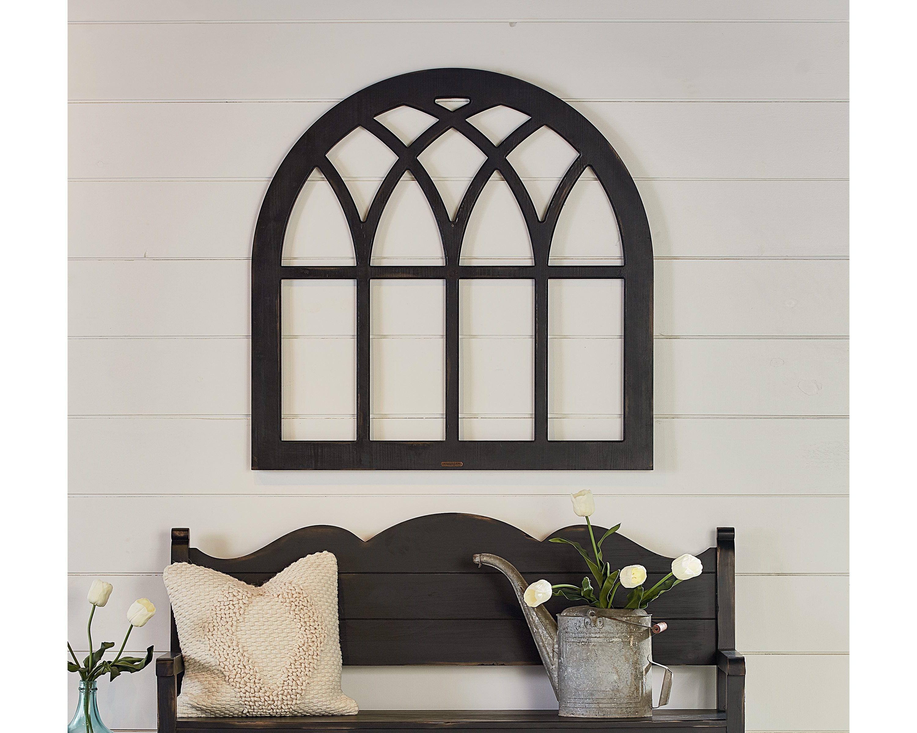 Widely Used Window Frame Wall Art With Regard To Cathedral Window Frame – Magnolia Home (View 11 of 15)