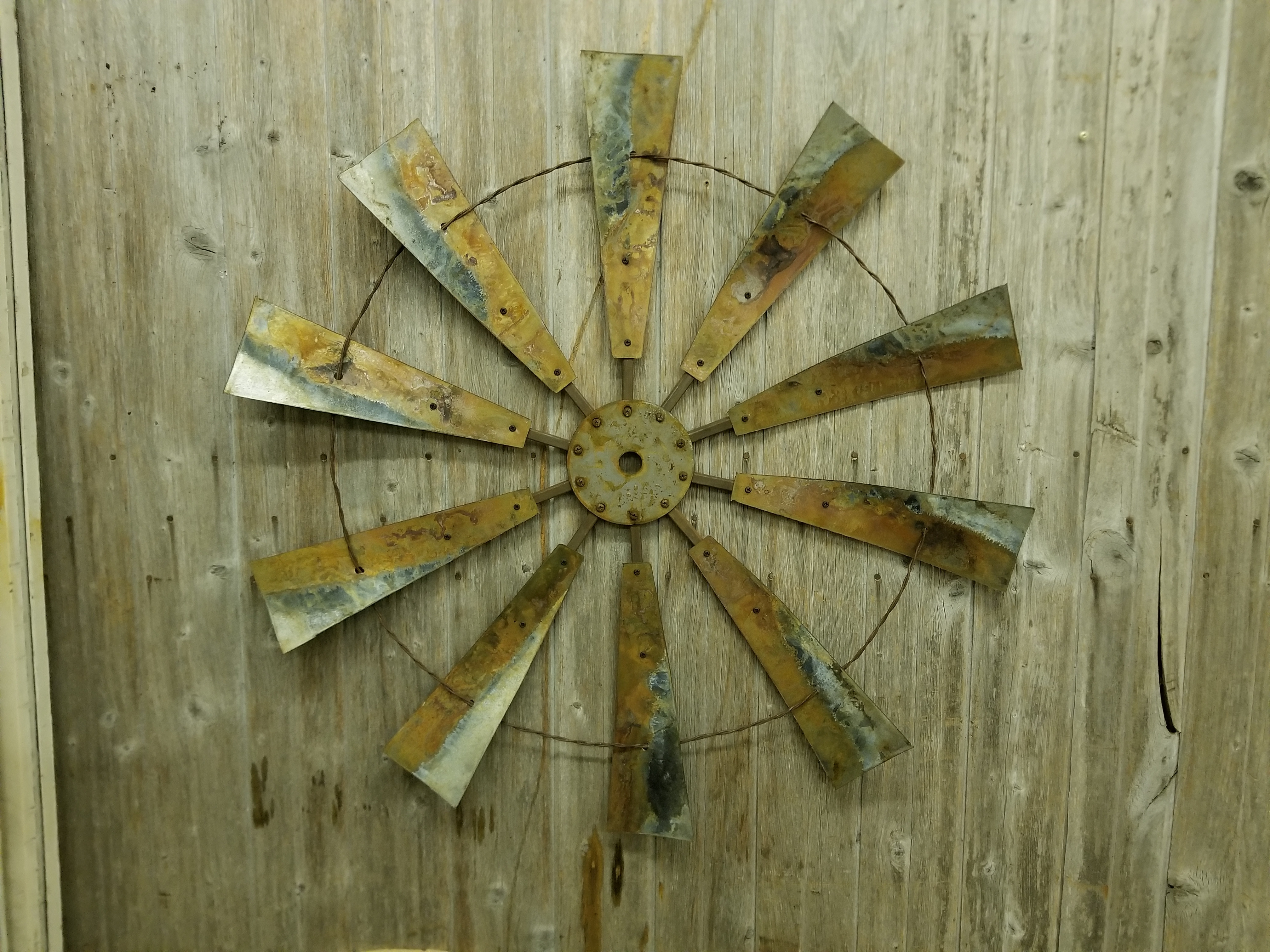 Windmill Wall Art For Famous Windmills – Rustic Metal Letters & Wall Art (Gallery 17 of 20)