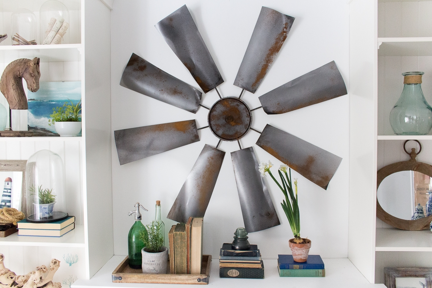 Windmill Wall Art In Trendy Fixer Upper Decor: Diy Windmill (Gallery 5 of 20)