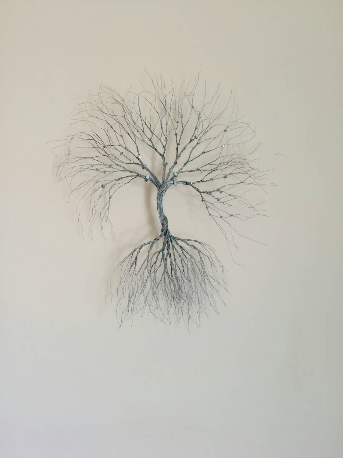 Wire Wall Art Pertaining To Newest Silver Wire Wall Art Tree Of Life Wall Decoration Decorative  Wire (View 17 of 20)