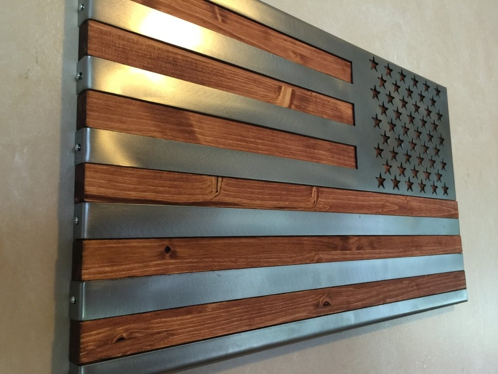 Wood And Metal Wall Art Throughout Most Current Wood And Metal Wall Art – Culturehoop (View 18 of 20)