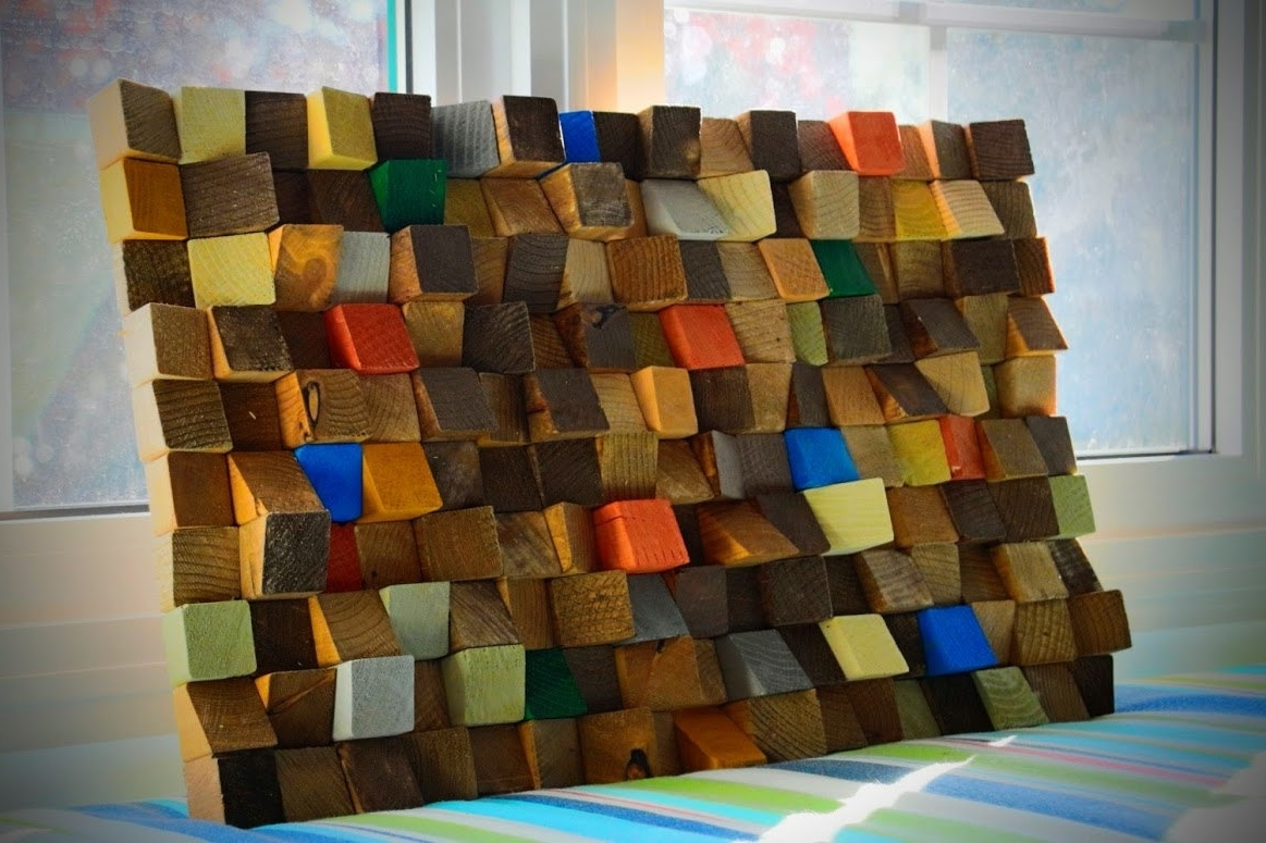 Wood Art Wall Inside Most Up To Date Buy Reclaimed Wood Wall Art, Rustic Wall Art, Wooden Art Wall (View 9 of 20)